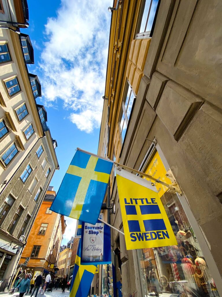 lời khuyên, học bổng, stockholm, gamla stan